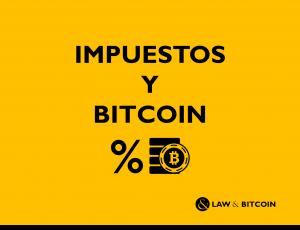 Impuesto y Bitcoin