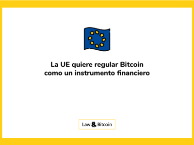 Union Europa regula BTC