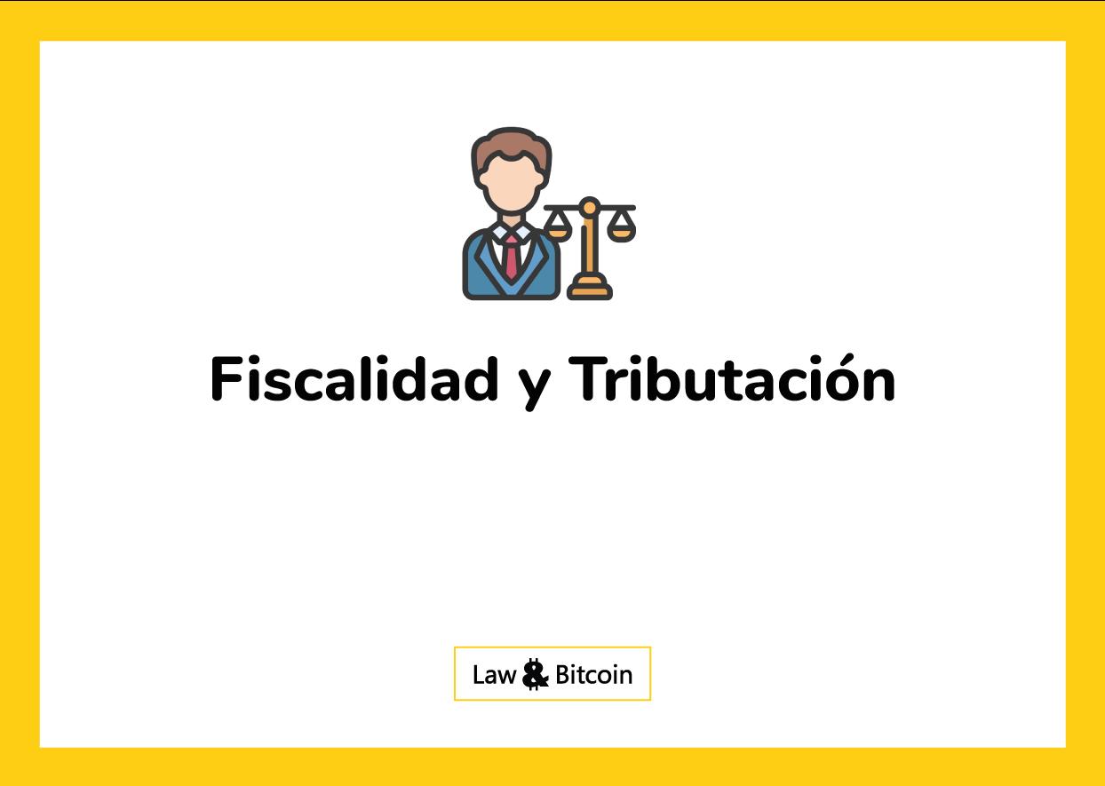 fiscalidad y tributacion