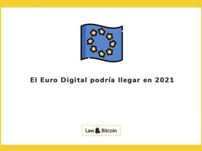 El Euro Digital podría llegar en 2021