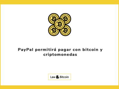 PayPal permitirá pagar con bitcoin y criptomonedas