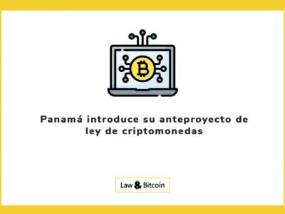 Panamá introduce su anteproyecto de ley de criptomonedas