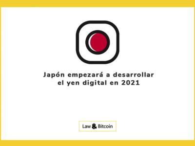 Japón empezará a desarrollar el yen digital en 2021