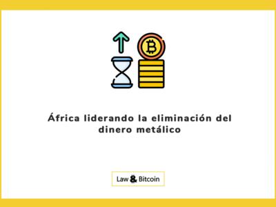 África liderando la eliminación del dinero metálico