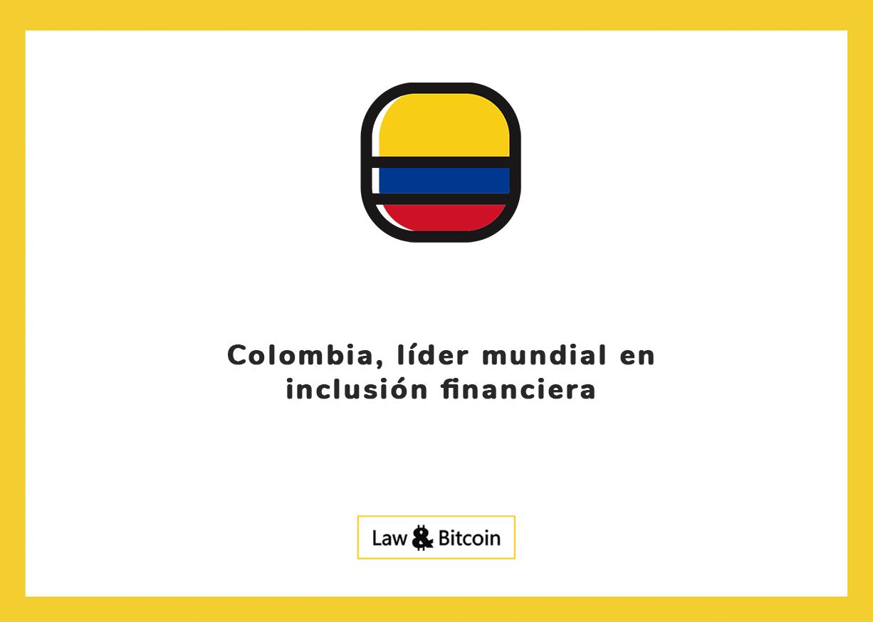 Colombia, líder mundial en inclusión financiera