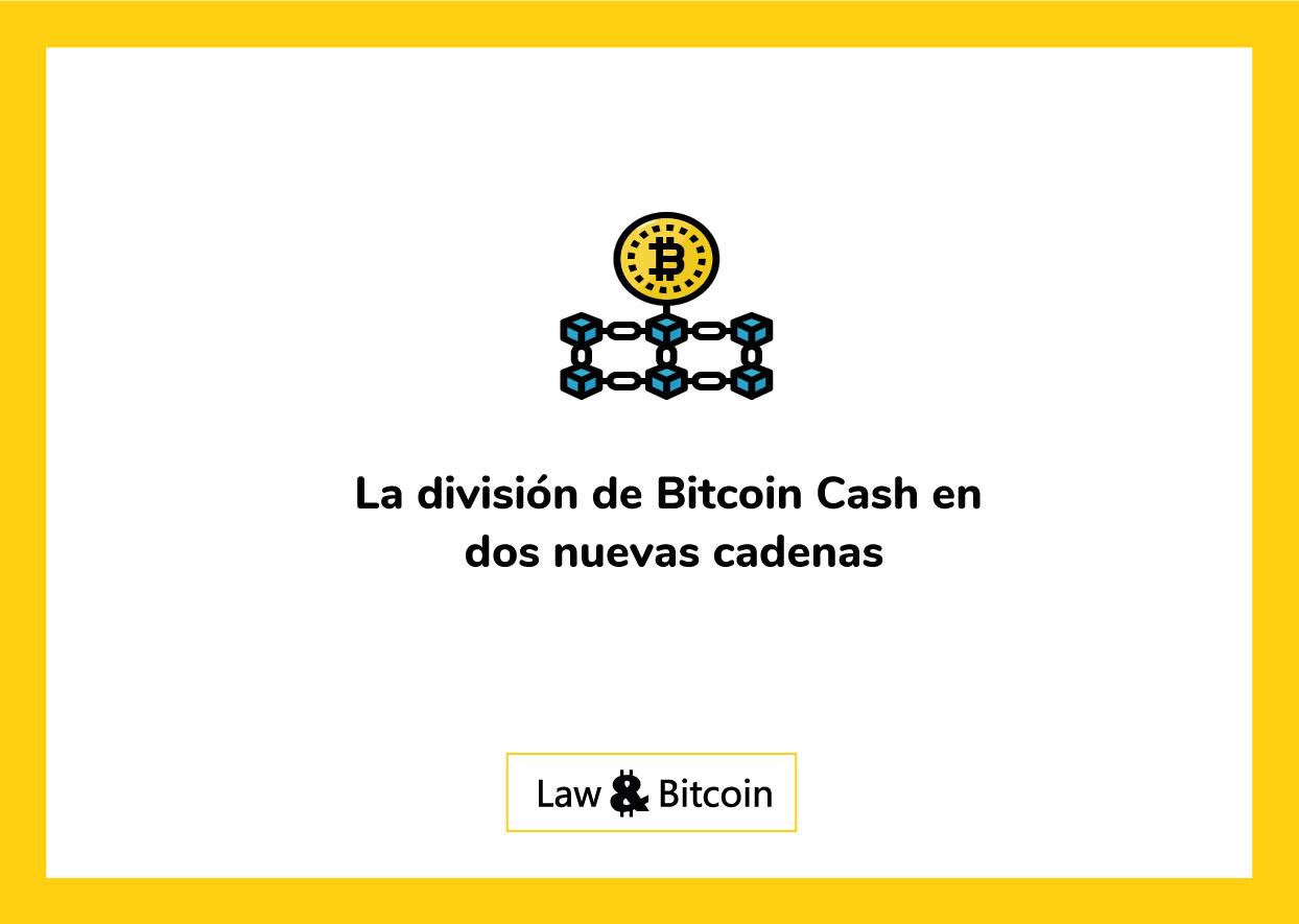 la-división-de-bitcoin-cash-en-dos-nuevas-cadenas