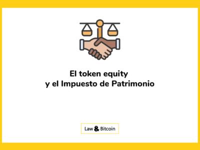 token equity impuesto patrimonio