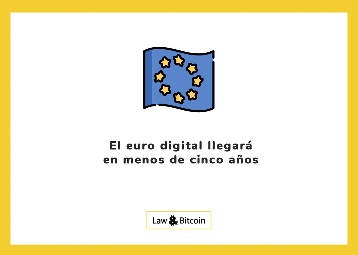 El euro digital llegará en menos de cinco años