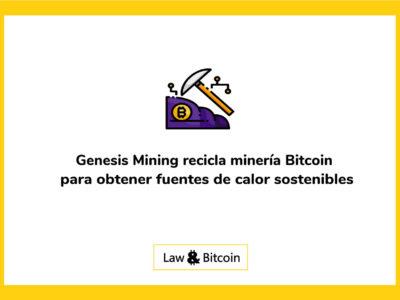 Genesis Mining recicla minería Bitcoin para obtener fuentes de calor sostenibles