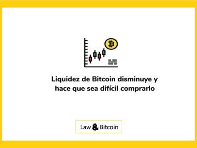 Liquidez-de-Bitcoin-disminuye-y-hace-que-sea-difícil-comprarlo