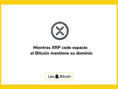 Mientras-XRP-cede-espacio-el-Bitcoin-mantiene-su-dominio
