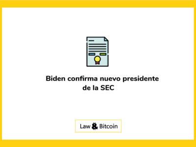 Biden confirma nuevo presidente de la SEC