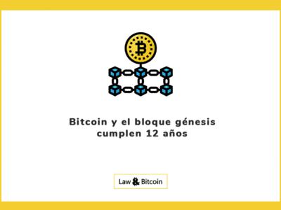 Bitcoin y el bloque génesis cumplen 12 años