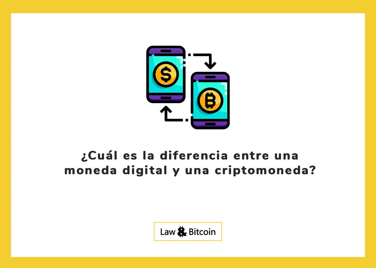 ¿Cuál es la diferencia entre una moneda digital y una criptomoneda?