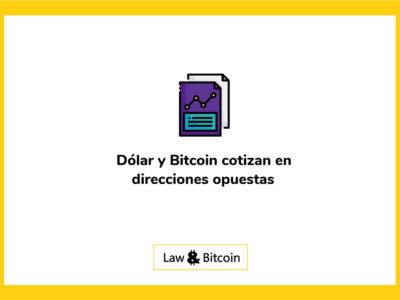 Dólar-y-Bitcoin-cotizan-en-direcciones-opuestas