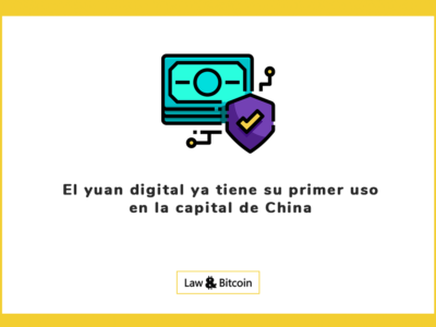 El yuan digital ya tiene su primer uso en la capital de China