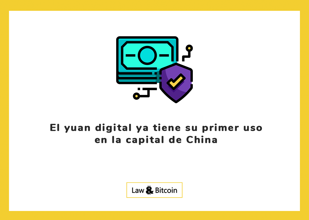 El yuan digital ya tiene su primer uso en la capital de China