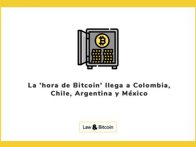 La 'hora de Bitcoin' llega a Colombia, Chile, Argentina y México