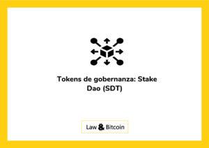 Tokens de gobernanza: Stake DAO (SDT)