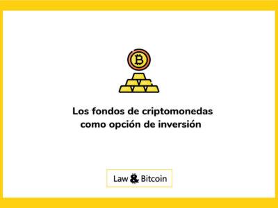 Los fondos de criptomonedas como opción de inversión