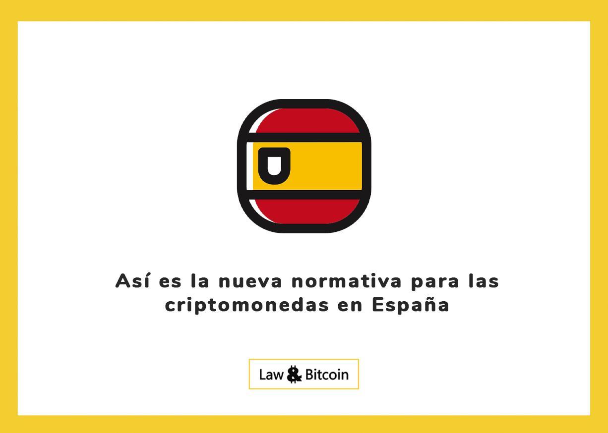 Así es la nueva normativa para las criptomonedas en España