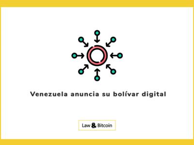 Venezuela anuncia su bolívar digital