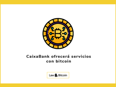CaixaBank ofrecerá servicios con bitcoin
