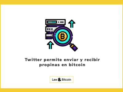 Twitter permite enviar y recibir propinas en bitcoin