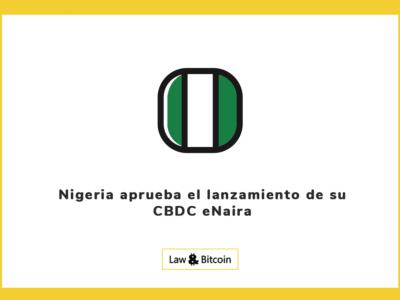 Nigeria aprueba el lanzamiento de su CBDC eNaira
